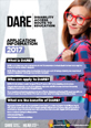 Image. Disability Access Route to Education (DARE) Information Leaflet 2017.
