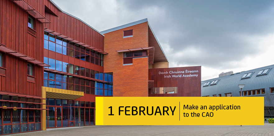 1 February. Make an application to the CAO